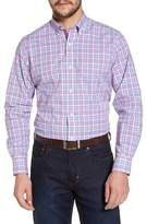 Tailorbyrd Eric Regular Fit Plaid Sport Shirt