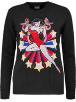 Just Cavalli Embroidered Knitted Sweater