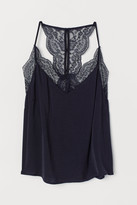 H&M Strappy top with lace