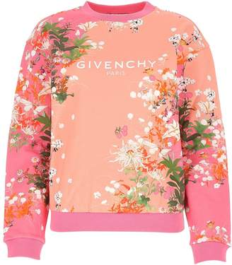 Givenchy Floral Printed Sweater