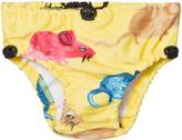 Mini Rodini Yellow Mr Mouse Baby Swimpants