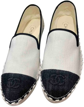 Chanel White Denim - Jeans Espadrilles