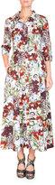 Erdem Kasia Floral-Print Midi Shirtdress