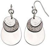 Jules B Grey Teardrop Earrings