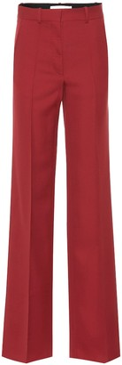 Victoria Beckham Wool wide-leg pants