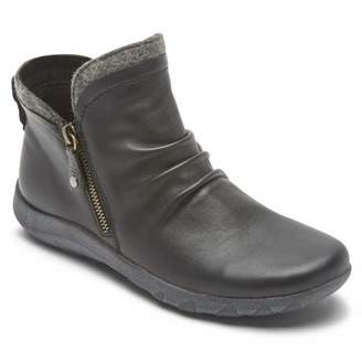 Cobb Hill Amalie Side Zip Boot Black