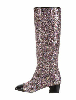 Chanel 2017 Fantasy Riding Boots Pink