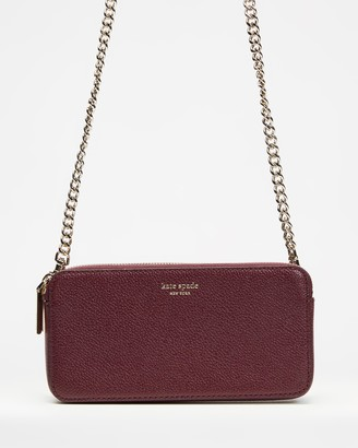Kate Spade Women's Red Purses - Margaux Double Zip Mini - Size One Size at The Iconic