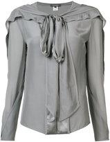 Zac Posen pussy bow blouse - women - Silk - 2