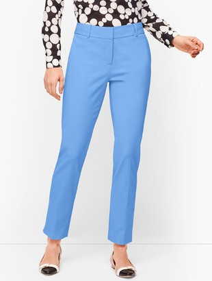 Talbots Hampshire Ankle Pants - Curvy Fit - Double Weave - Traditional Hem