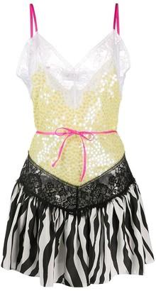 ATTICO Dress In Yellow Silk