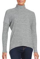 Red Haute Turtleneck Tunic Sweater