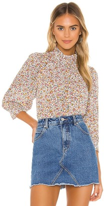 ROLLA'S Stephanie Coast Floral Blouse