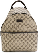 Gucci Kids - branded backpack - kids - Leather - One Size