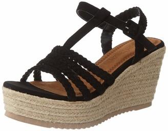 Refresh Women's 69563 Platform Sandals Black (Negro Negro) 5.5 UK