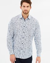 TAROCASH Morrison Paisley Print Shirt