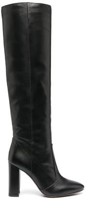 L'Autre Chose Round-Toe Knee-High Boots