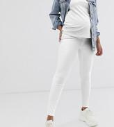 Spanx Maternity Mama ankle grazer jean-ish leggings