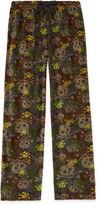 Arizona Microfleece Camo Skulls Pajama Pant- Boys 4-20, Husky
