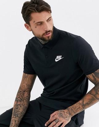 Nike Logo polo shirt in black
