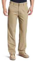 Haggar Men's LK Life Khaki Straight-Fit Flat-Front Pant
