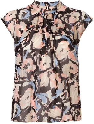 TOMORROWLAND graphic floral print blouse