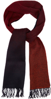 Paul Smith Gradient wool and cashmere-blend scarf