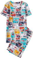 Gymboree Food Truck 2-Piece Shortie Pajamas