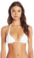 Seafolly Women's Core Slide Tri Bikini Top