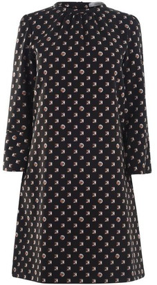 Marella Long Sleeve Midi Dress