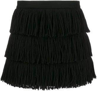 RED Valentino Fringed Tassel Skirt