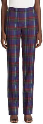 Ralph Lauren Seth Plaid Wool Pants