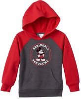 """Disney Disney's Mickey Mouse Toddler Boy """"Seriously Handsome"""" Hoodie"""