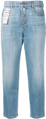 Stella McCartney Cropped Straight Jeans