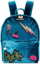 Betsey Johnson Velvet Medium Backpack