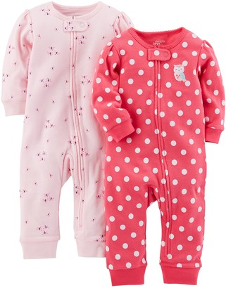 Simple Joys by Carter's 2-pack Cotton Footless Sleep and Play Footie