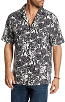 Tommy Bahama Turtle Cove Original Fit Short Sleeve Silk Shirt