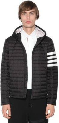 Thom Browne Hooded Nylon Down Jacket