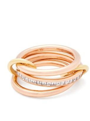 Spinelli Kilcollin Rene 18kt & Diamond Ring - Rose Gold