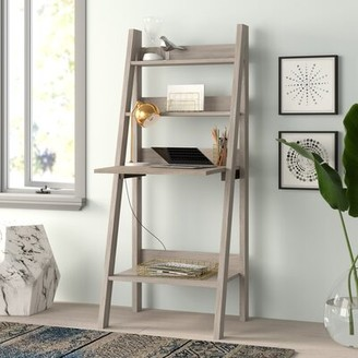 Feist Ladder Desk Wrought Studio Color: Dark Taupe