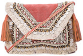 Shashi Leela Clutch in Coral.