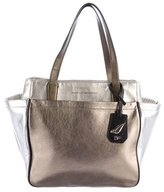 Diane von Furstenberg Metallic On The Go Tote