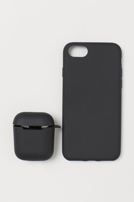H&M iPhone case and AirPod case