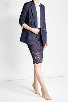 Polo Ralph Lauren Lace Pencil Skirt with Cotton