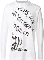 Y-3 Call T-shirt