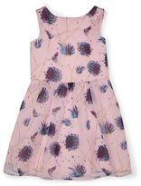 Jigsaw Girls Blooming Dandelion Print Dress