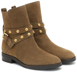 See by Chloe Neo Janis suede ankle boots
