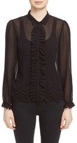 The Kooples Women's Embroidered Top