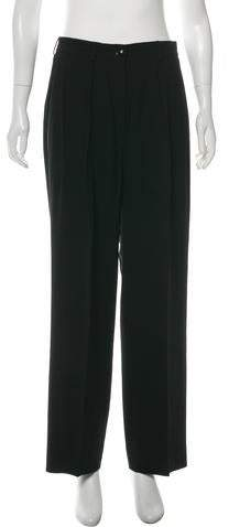 6f03b119970 Saint Laurent Women's Wide Leg Pants - ShopStyle