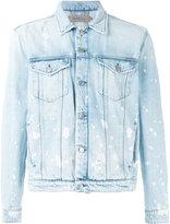 Calvin Klein Jeans splattered denim jacket - men - Cotton - S